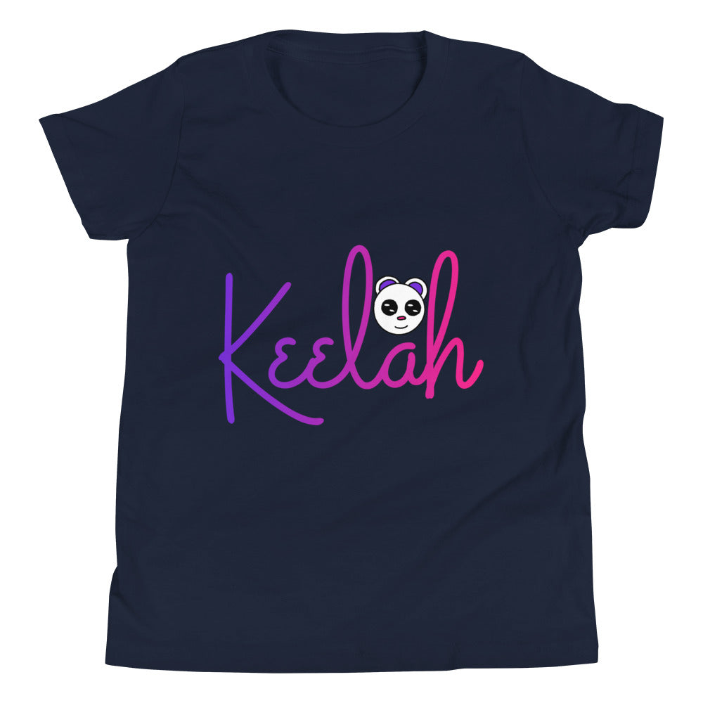 """Keelah"" Girls Short Sleeve T-Shirt - Keyline Wear"