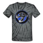 Kicks Tie Dye T-Shirt - spider black
