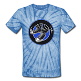 Kicks Tie Dye T-Shirt - spider baby blue