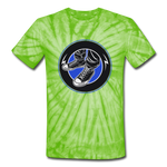 Kicks Tie Dye T-Shirt - spider lime green
