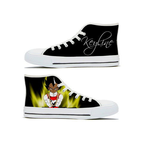 """Too Cool"" Keyline Wear High Top Shoes - Keyline Wear"