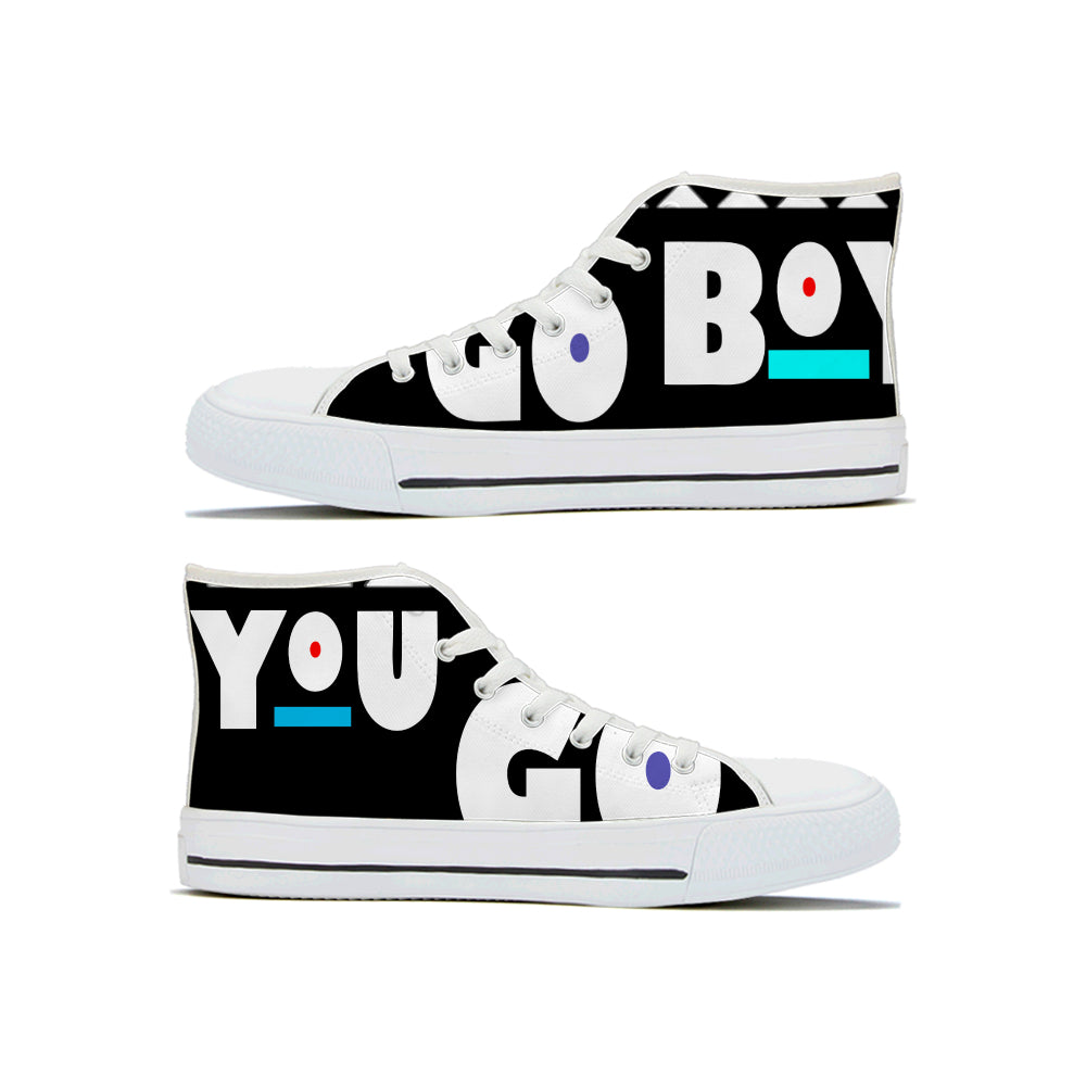 You Go Boy High Top Shoes - Keyline Wear