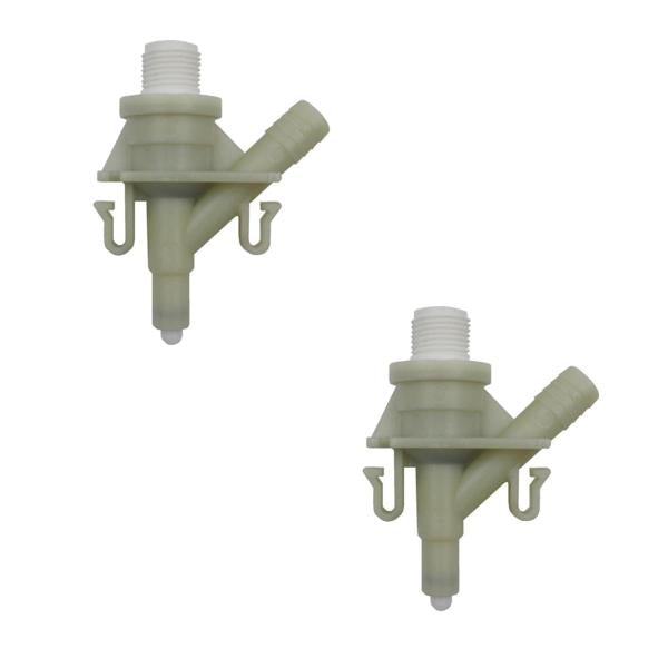 for Dometic Sealand Toilet Water Valve Kit | Set of 2