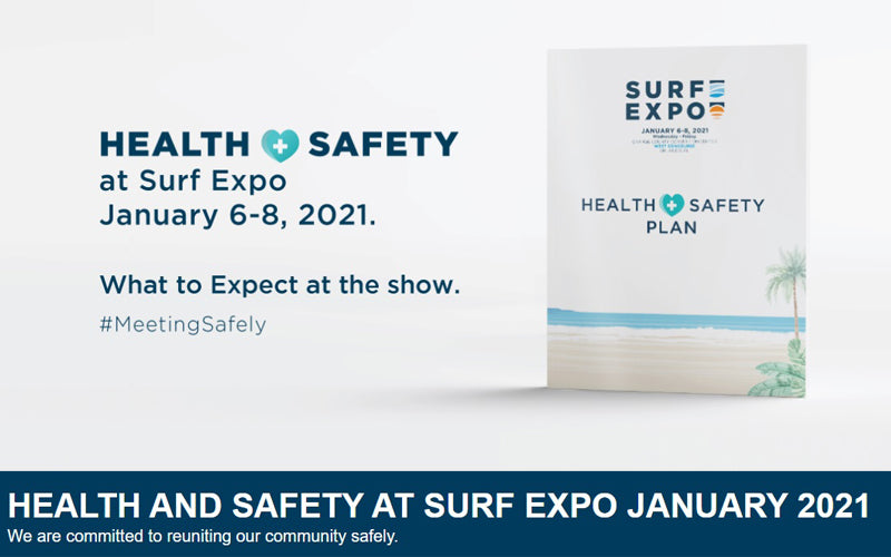 Health and Safety Guidelines at Surf Expo 2021