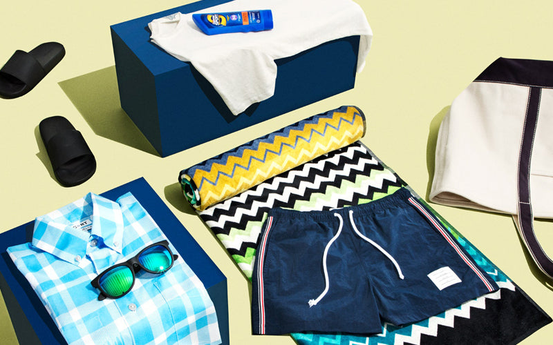 How Men Should Pack for Every Beach Trip This Summer