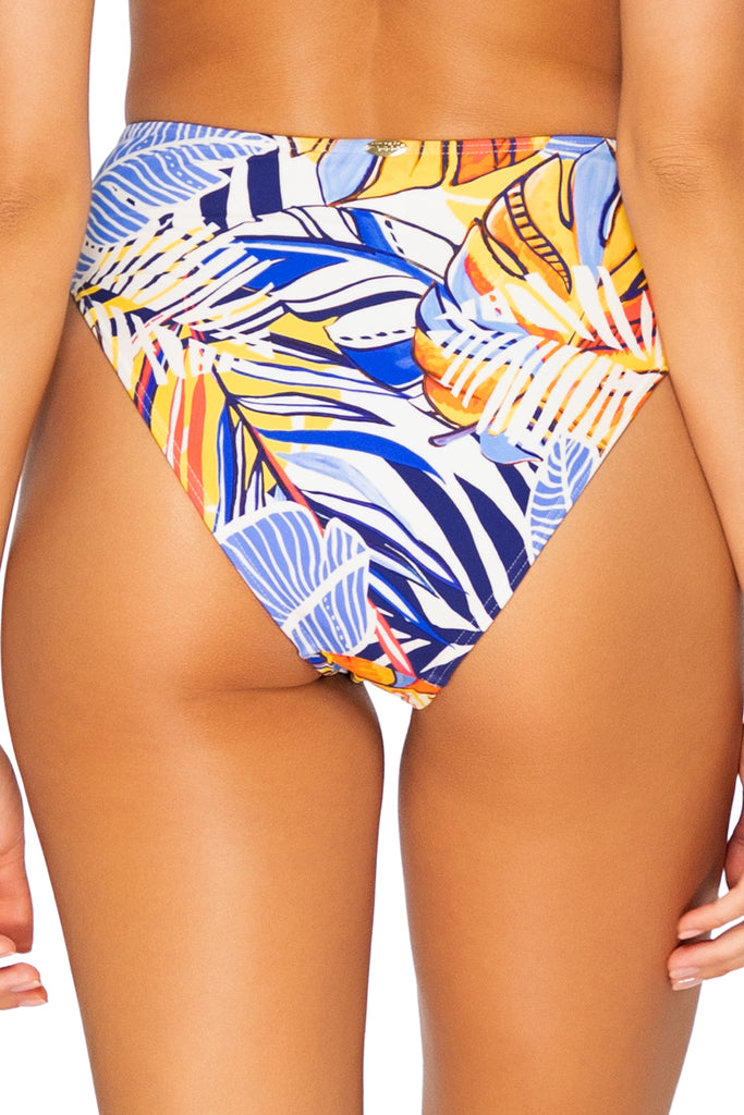 Sunsets Bahama Breeze Tessa Tie High Rise Bikini Bottom