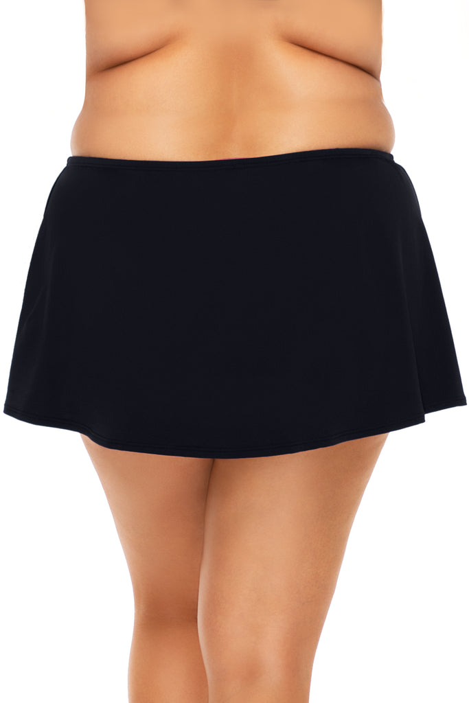 Sunsets Escape Black Island Time Swim Skirt