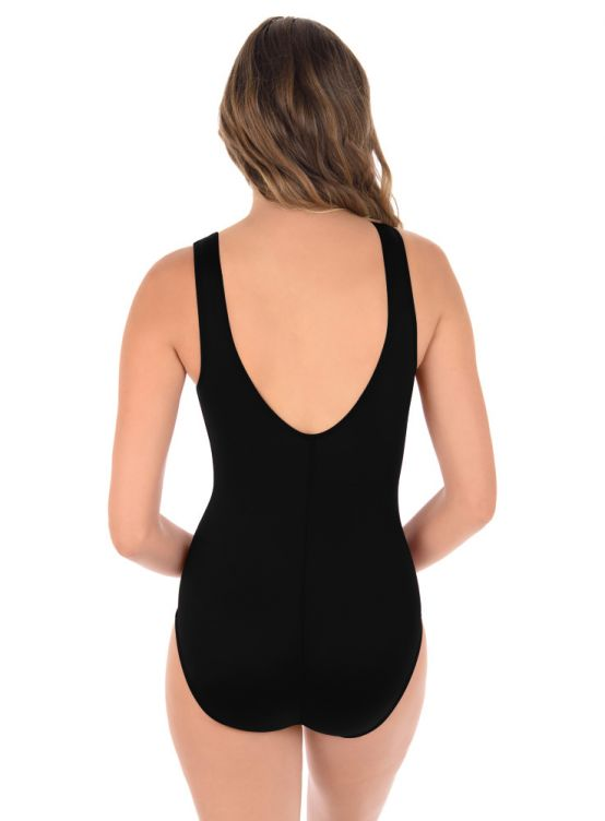Miraclesuit Illusionists Palma One Piece Black