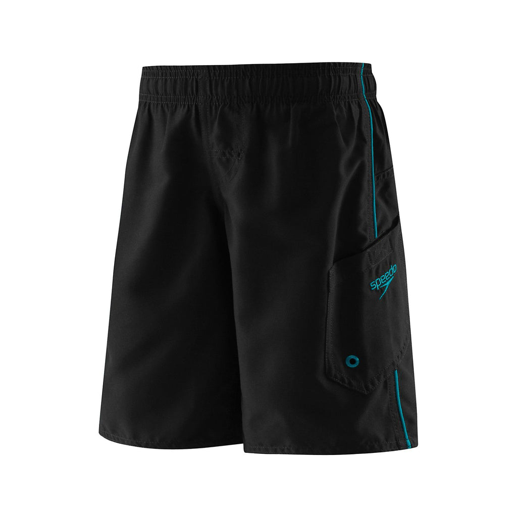Speedo Boys' Marina Volley Black/Blue