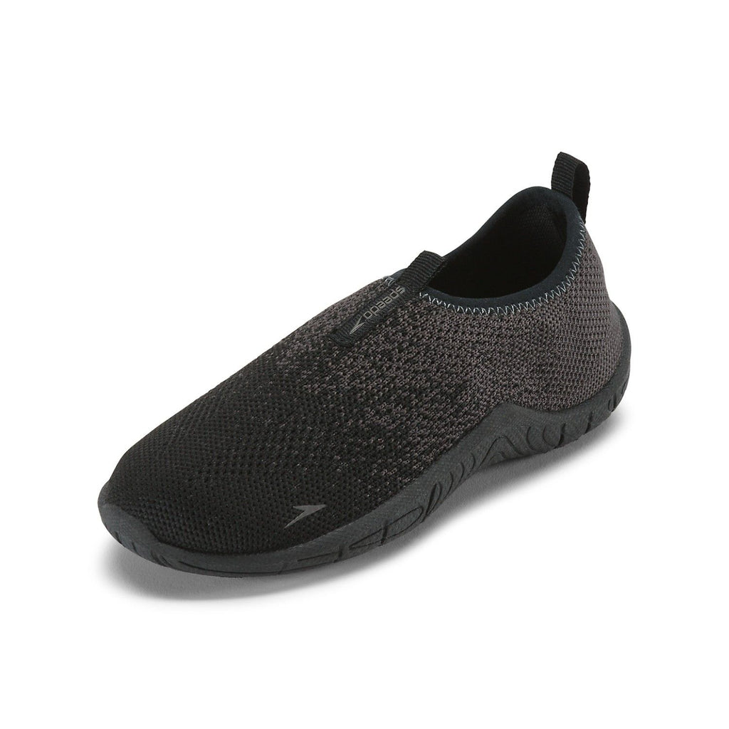 Speedo Kids' Surf Knit Water Shoes Black/Darkgulll Grey