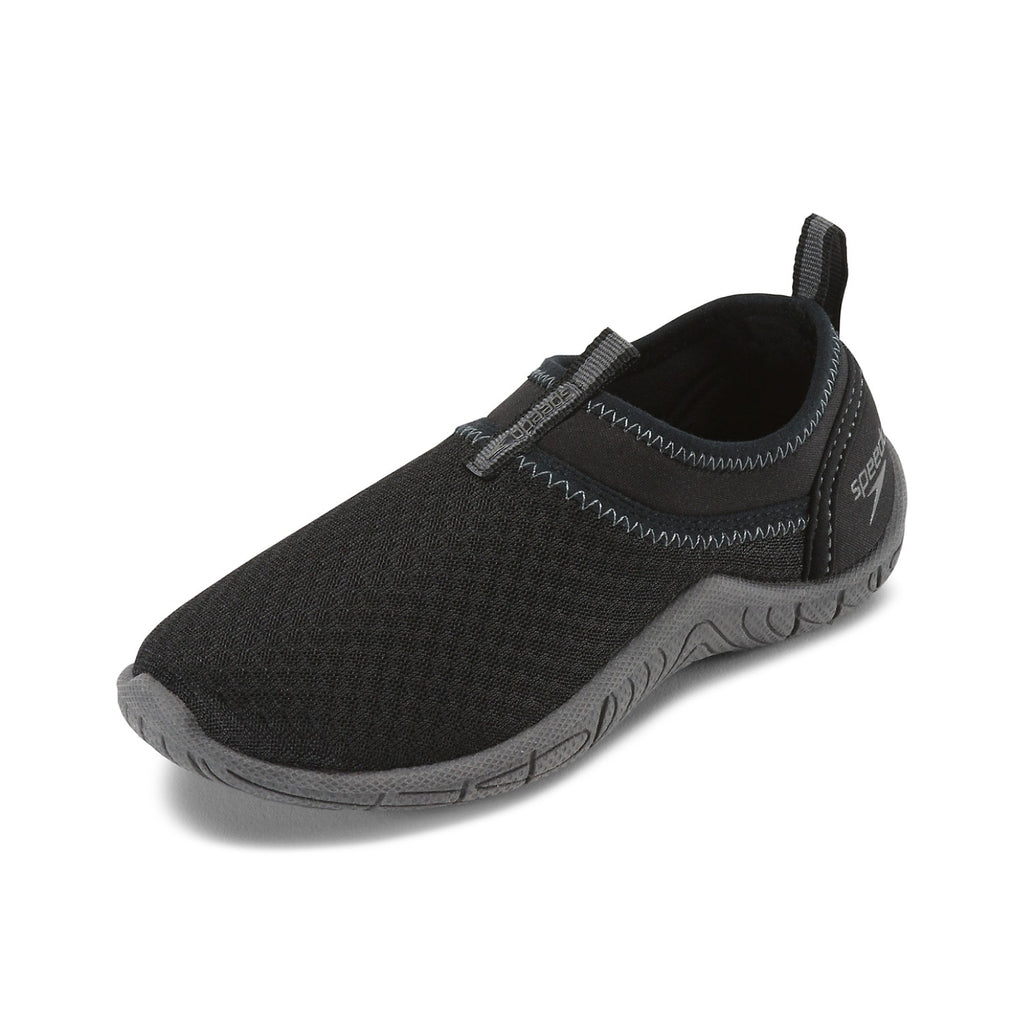 Speedo Kids' Tidal Cruiser Water Shoes Black/Dark Gull Grey