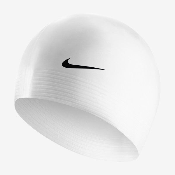 Nike Swim Cap Solid Latex White