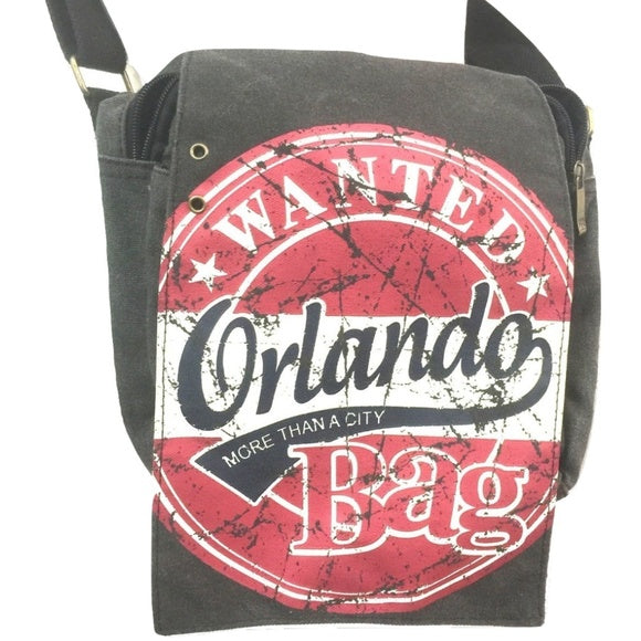 Robin Ruth Orlando City Wanted Stamp Messenger Maroon