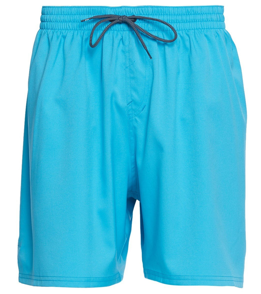Nike Swim Men's 7-inch Vital Volley Extended Size Board Short Light Blue Fury