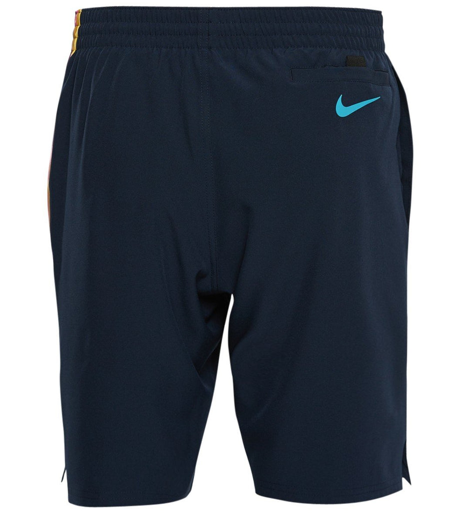 Nike Swim Men's 8-inch Vital Volley Extended Size Board Short Obsidian