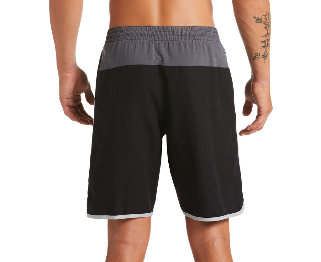 Nike Swim Men's Diverge Volley Swim Trunks Black
