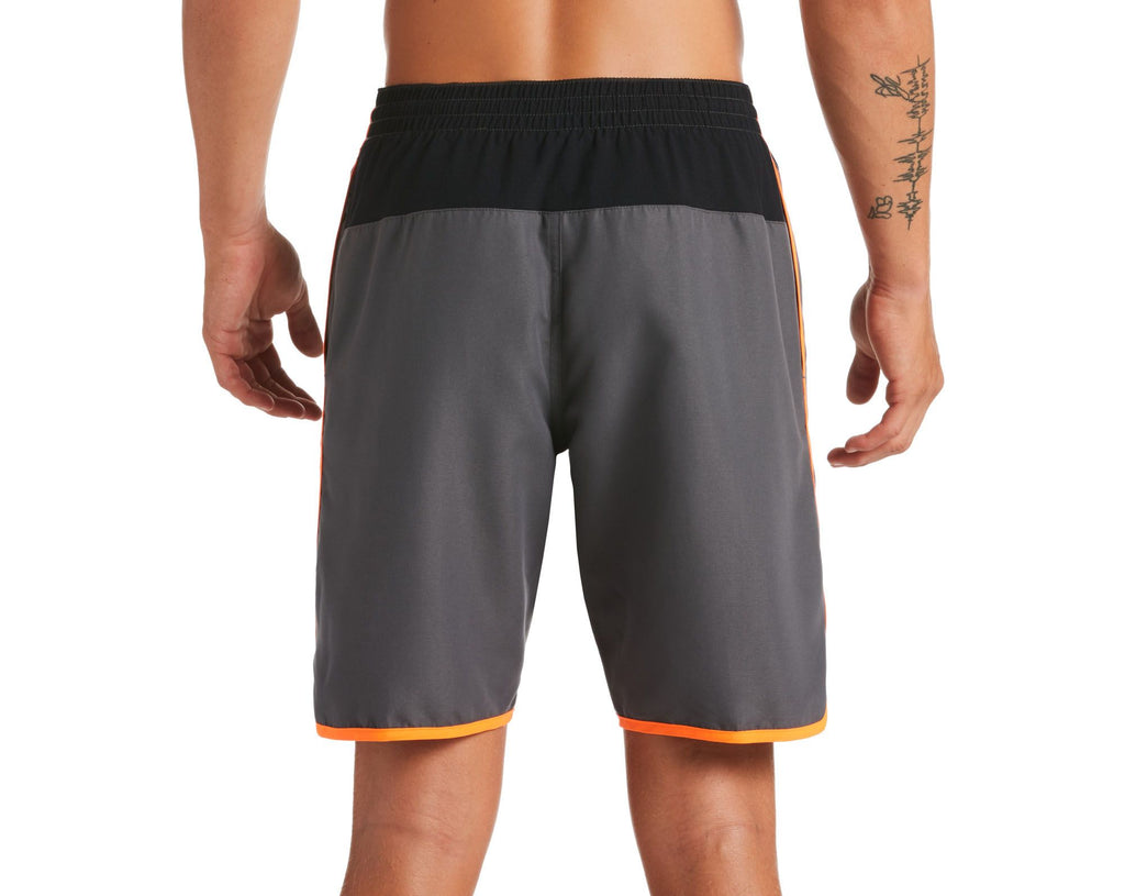 Nike Swim Men's Diverge Volley Swim Trunks Total Orange