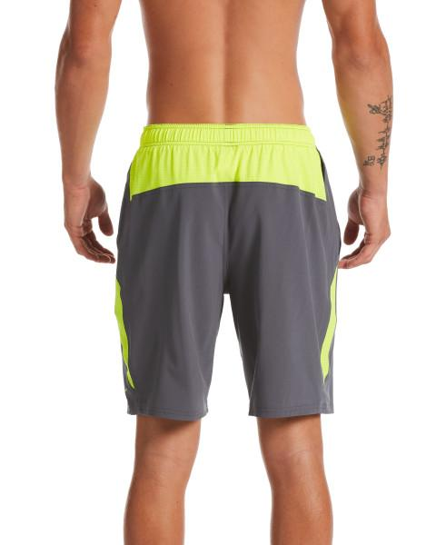 Nike Swim Men's Contend 9-inch Volley Board Shorts Iron Grey
