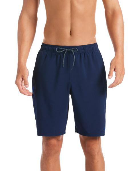 Nike Swim Men's Contend 9-inch Volley Board Shorts Midnight Navy