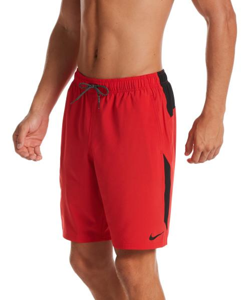 Nike Swim Men's Contend 9-inch Volley Board Shorts University Red