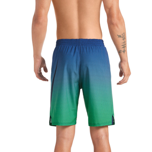 Nike Swim Men's Color Fade Vital 9 inch Trunk Midnight Navy