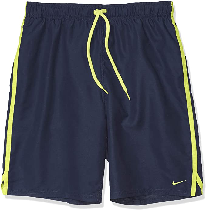 "Nike Swim Men's Diverge 9"" Volley Short Swim Trunk Midnight Navy"
