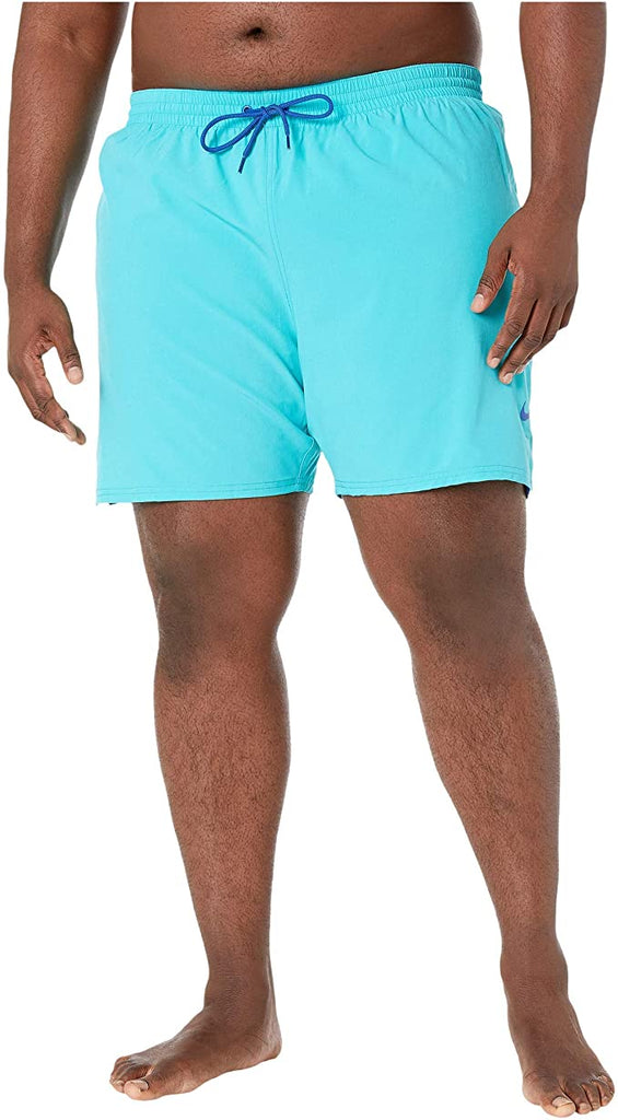 "Nike Swim Men's Plus Size 18"" Essential Vital Volley Short Blue"