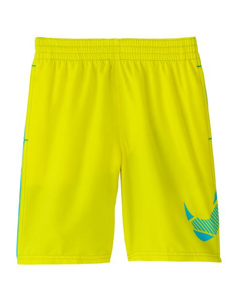Nike Swim Boys' Mash Up Lap 8-inch Volley Board Shorts Lemon Venom