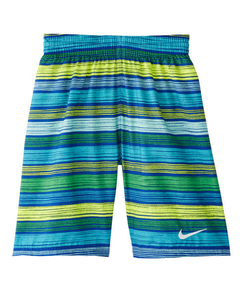 Nike Swim Boys' 6:1 Stripe Breaker 8-inch Volley Board Shorts Game Royal