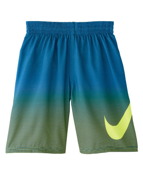 Nike Swim Boys' Color Fade Breaker 8-inch Volley Board Shorts Lemon Venom