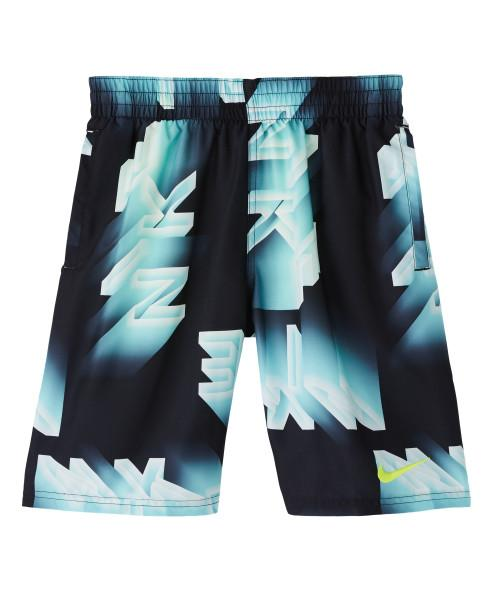 Nike Swim Boys' Lights Breaker 8-inch Volley Board Shorts Oracle Aqua