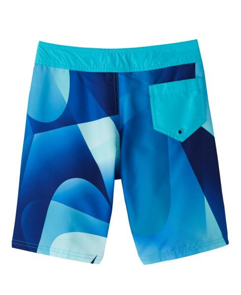 Nike Swim Boys' Spectrum Drift 8-inch Board Shorts Oracle Aqua