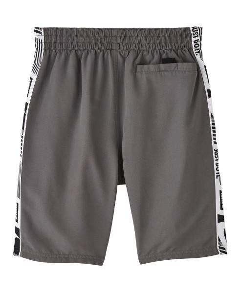 Nike Swim Boys' Funfetti Racer 8-inch Volley Board Shorts Iron Grey