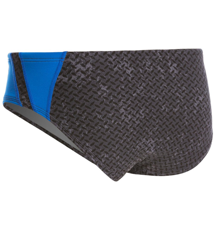 TYR Men's Durafast Elite Viper Racer Brief Blue