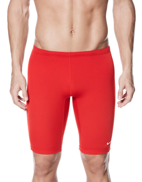 Nike Swim Men's Poly Solid Jammers University Red
