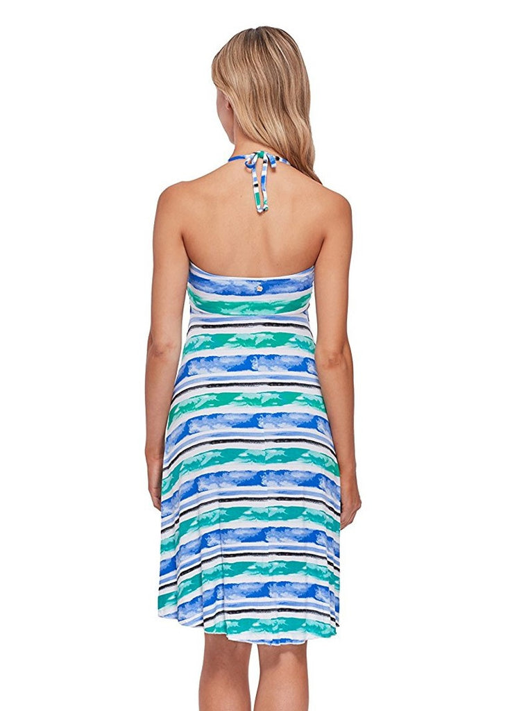 Skye Aqueous Strapless Demi Dress Cover Up