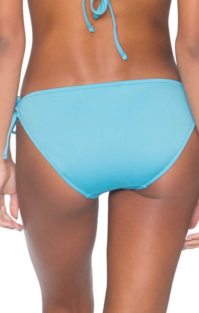 B. Swim Women's Blue Ginger Tunnel Tide Pant Bikini Bottom