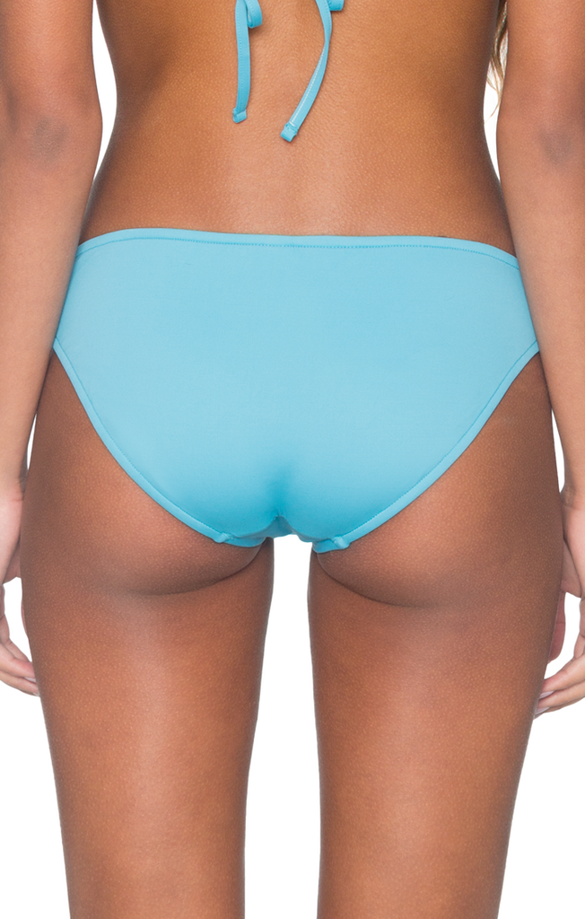 B. Swim Women's Blue Ginger Island Pant Bikini Bottom