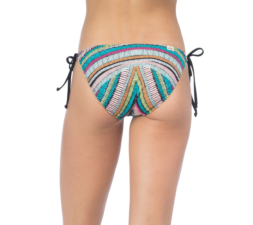 Hobie Women's Weave Rider String Tie Side Bikini Bottom