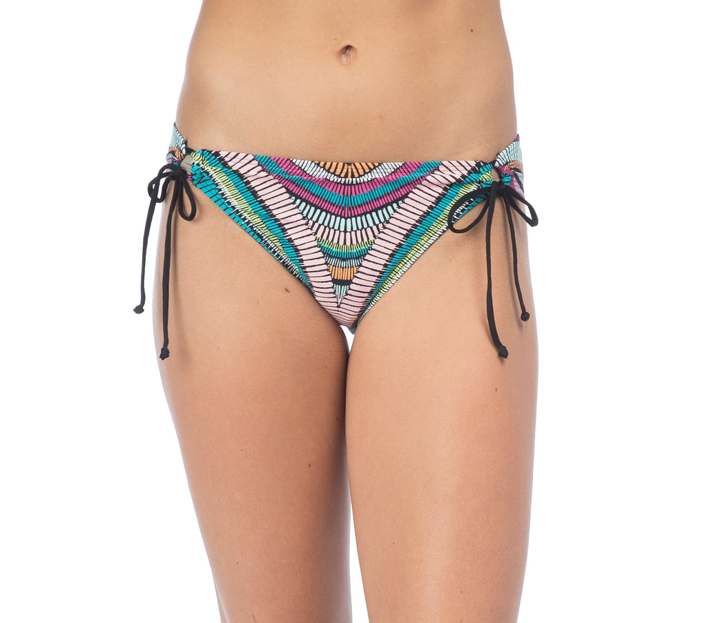 Hobie Women's Weave Adjustable Hipster Bikini Bottom