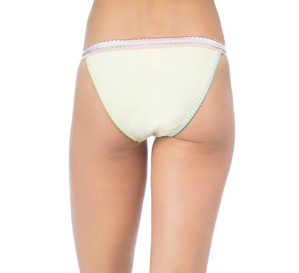 Hobie Women's Lemon Fizz Lets Stitch Together Hipster Bikini Bottom