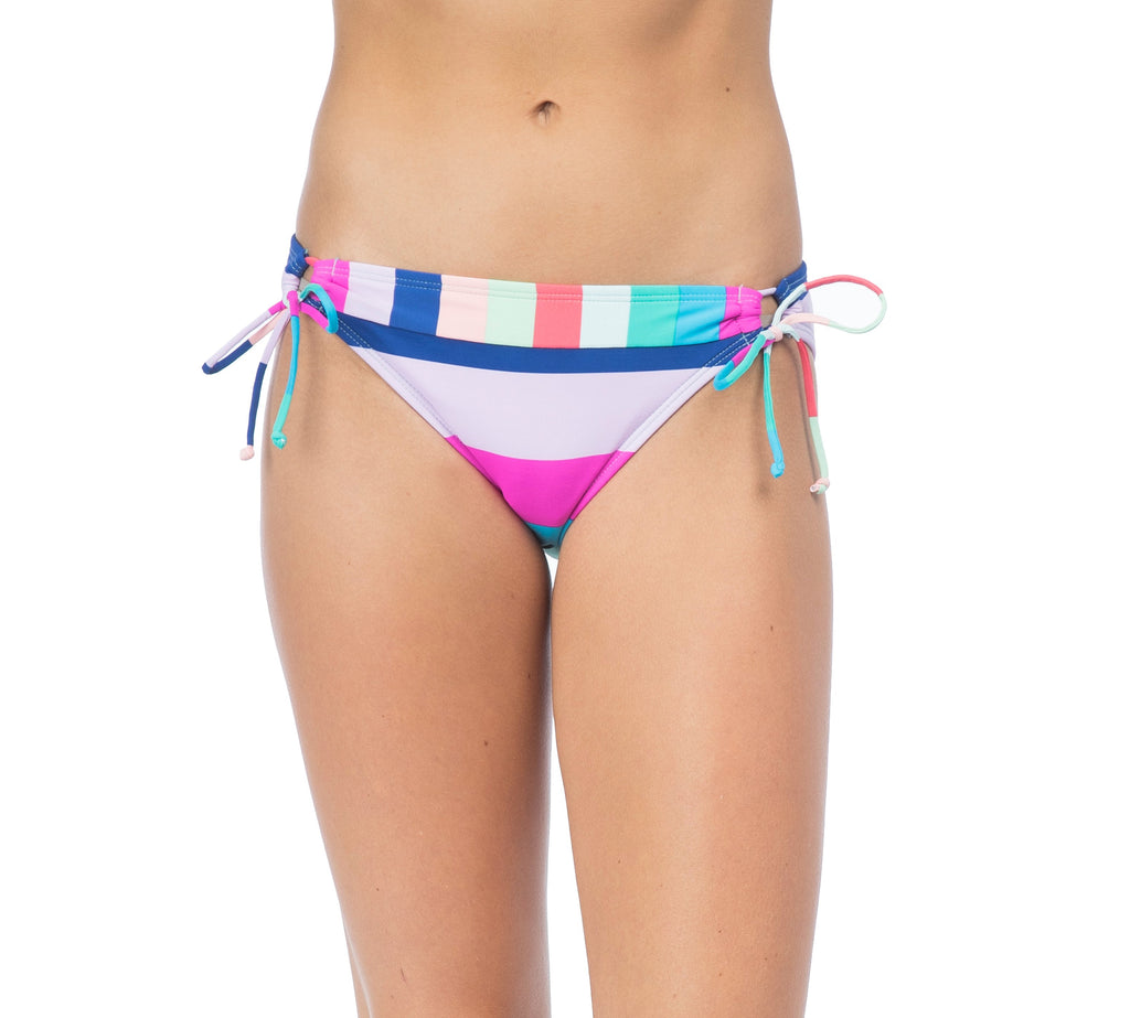 Hobie Women's Island Vibes Adjustable Hipster Bikini Bottom