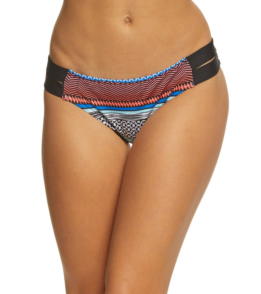 Jag Swim Ombre Stripe Cobalt Blue Retro Bikini Bottom