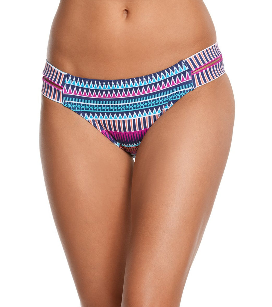 Jag Swim Tribal Essence Very Berry Retro Bikini Bottom