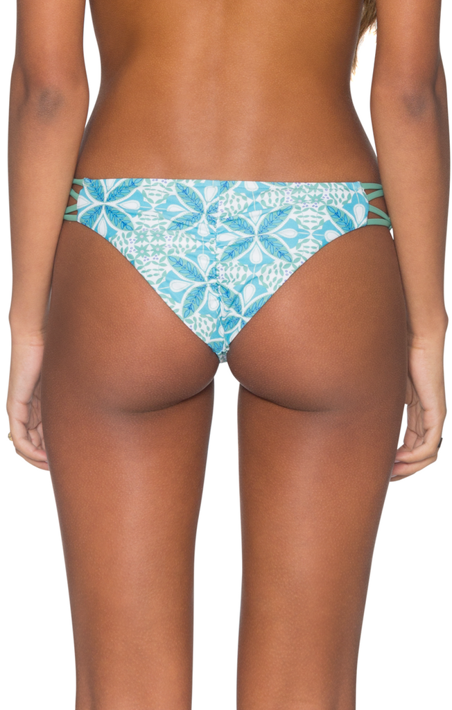B. Swim Women's Lily Kai Palm Pucker Pant Bikini Bottom