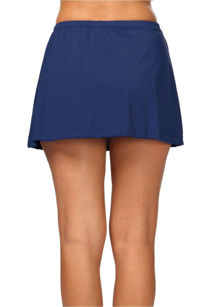 Maxine of Hollywood Skirted Pants Navy Blue