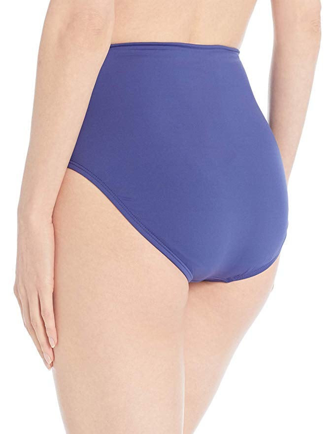 24th and Ocean Navy High Waist Hipster Bikini Bottom