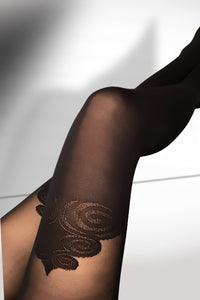 Patterned Tights 40 Den