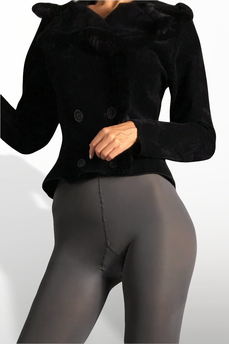 Microfiber Tights 100 Denier - Gray