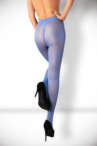 Microfiber Tights 40 Den - Light Blue